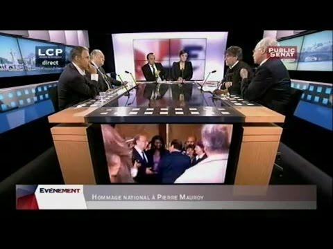 Cérémonie nationale d'hommage à Pierre Mauroy - EVENEMENT (11/06/2013)