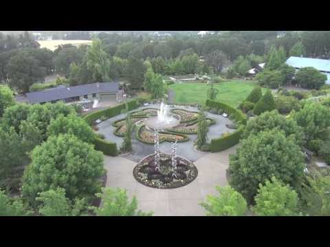 Aerial Tour of The Oregon Garden