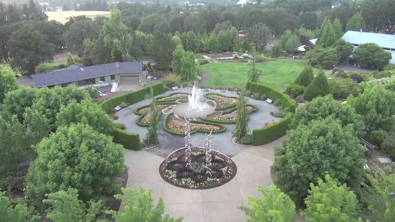 aerial tour of oregon garden