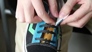 How to Lace Your Vans More Attractive?  Just See This Batman Laces!