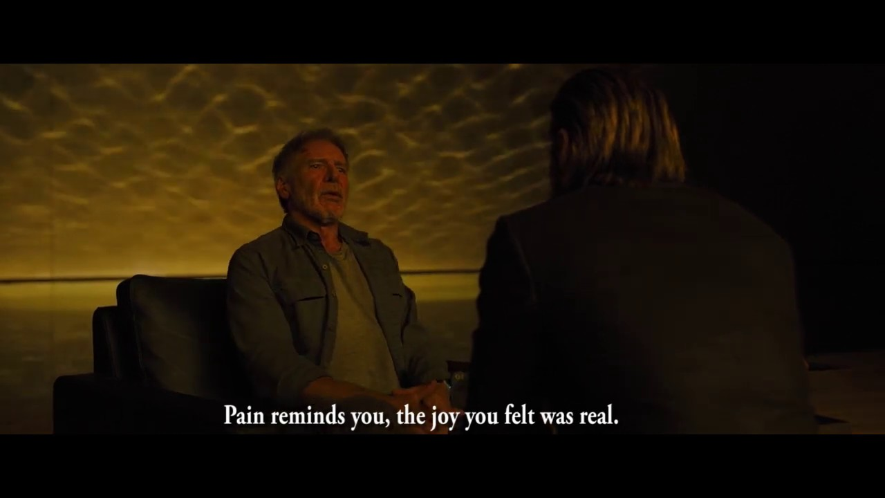 Blade Runner 2049 Pain Reminds You Youtube