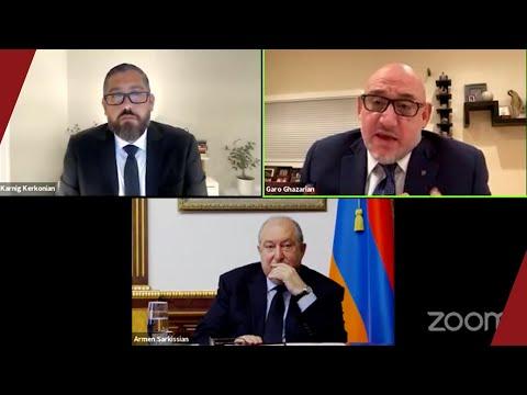 President Armen Sarkissian On The Future Of Armenia And The Diaspora