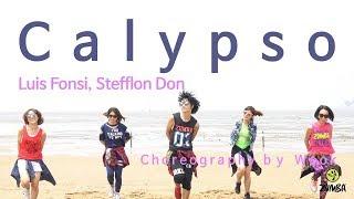 Calypso(Busking)- Luis Fonsi, Stefflon Don/Easy Dance Fitness Choreography/Zumba®/Wook's Zumba Story