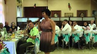Песня мамы на свадьбе сына.Ведущая свадьбы Ольга Просвиркина.