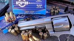 45 ACP Revolver Guns, Ammo and Moonclips - The Definitive Review