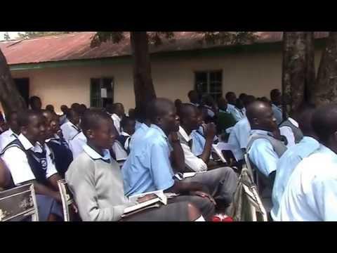 STUDENTS, CAMP ORERO BOYS HIGH SCHOOL 2012