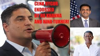 BREAKING: Cenk Uygur Officially ENDORSED By Ro Khanna & Nina Turner!! #Cenk2020 BREAKING: Cenk Uygur Officially ENDORSED By Ro Khanna & Nina Turner!! #Cenk2020 Donate to Cenk here: cenk2020.com/ Cenk Uygur, ..., From YouTubeVideos