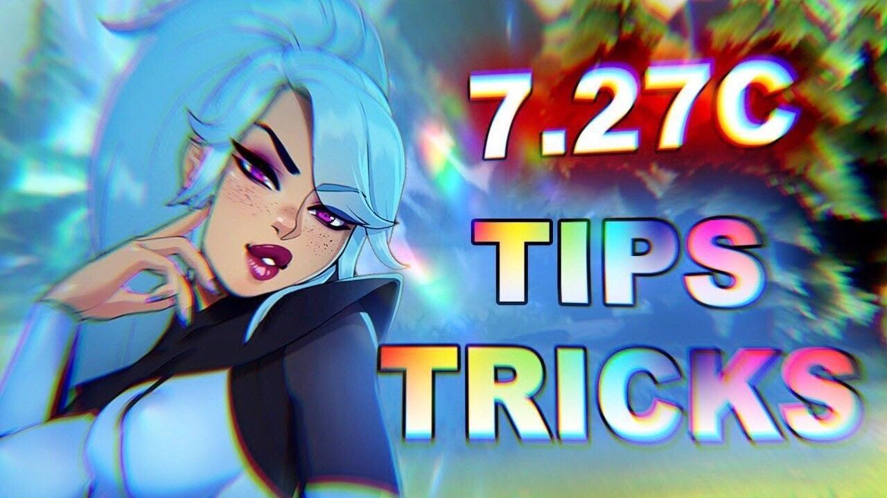 NEW Dota 2 TIPS, TRICKS and BUGS! 7.27c