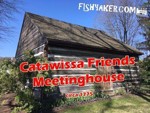 Historic Catawissa Friends Meetinghouse - Catawissa, Pennsylvania; circa 1775