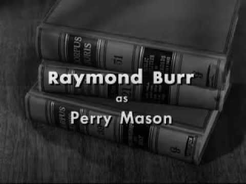 """Perry Mason"" US TV series (1957—66)  closer"