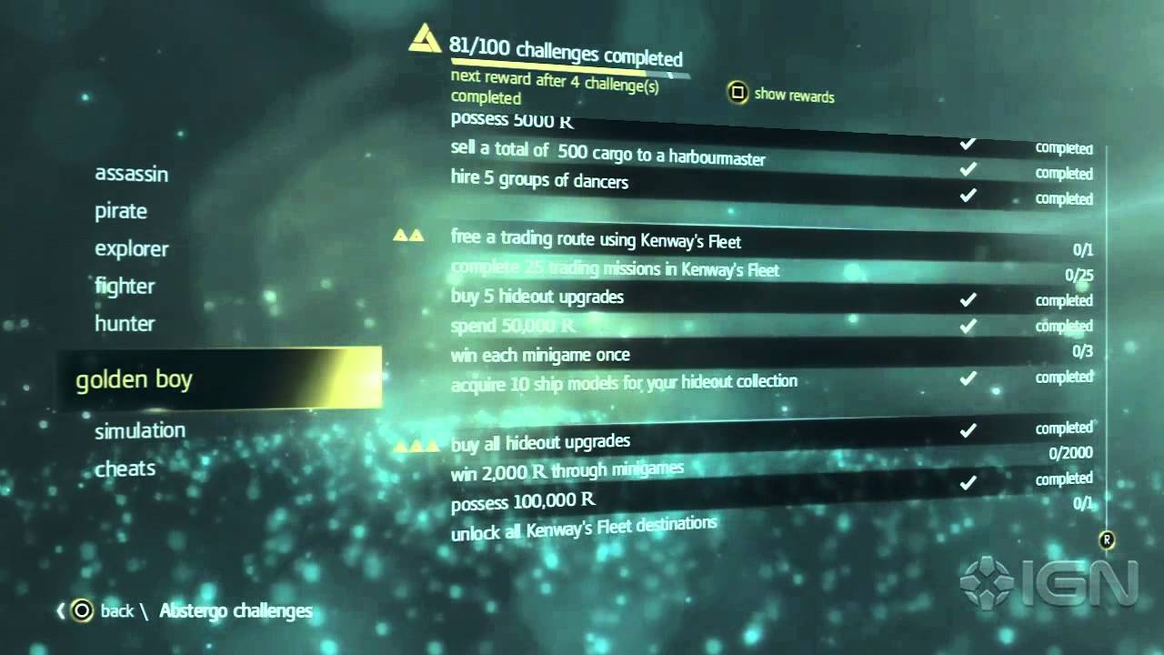 assassin s creed 4 cheats and abstergo challenges youtube rh youtube com ac4 money cheat xbox [ 1280 x 720 Pixel ]