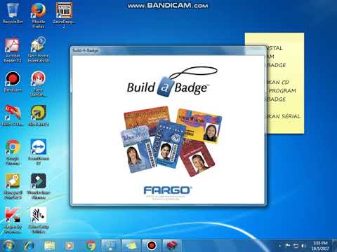 Fargo build a badge software, free download
