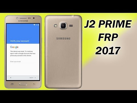 REMOVE FRP SAMSUNG GALAXY J2 PRIME BYPASS GOOGLE ACCOUNT