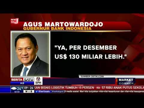 Cadangan Devisa RI per Desember 2017 Capai US$ 130 Miliar