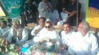 pmln charsadda, mian hamayon shah, iqbal zafar jagra, and shazia aurangzeb khan