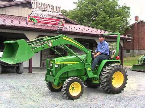 john deere 790 tractor 300 loader 137 hours on ebay youtube. Black Bedroom Furniture Sets. Home Design Ideas