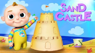 TooToo Boy - Sand Castle Episode | Cartoon-Animation Für Kinder | Lustige Cartoons | Comedy-Show