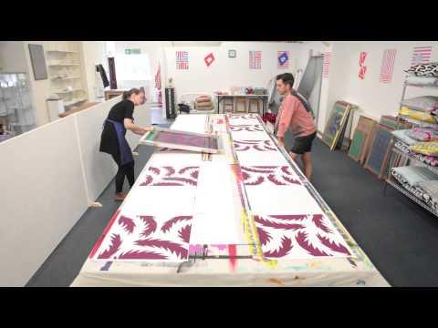 Sunny Todd Prints Heal's cushion Stopframe