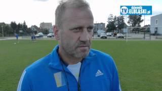 Adam Boros o meczu Olimpii Elbląg z Huraganem Morąg