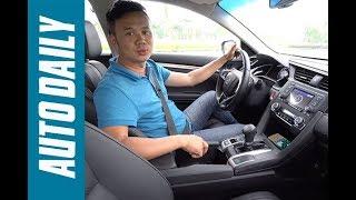 Thử phanh tay điện tử trên Honda Civic 1.8E 2018 |AUTODAILY.VN|