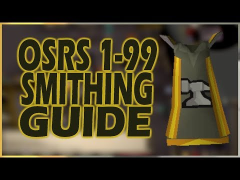 ULTIMATE 1-99 SMITHING GUIDE | 60M+ PROFIT