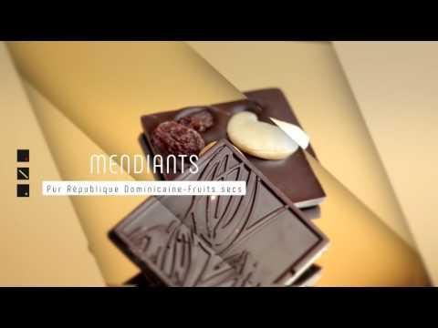 B Chocolat   MENDIANTS   Pur République Dominicaine   Fruits secs version 2