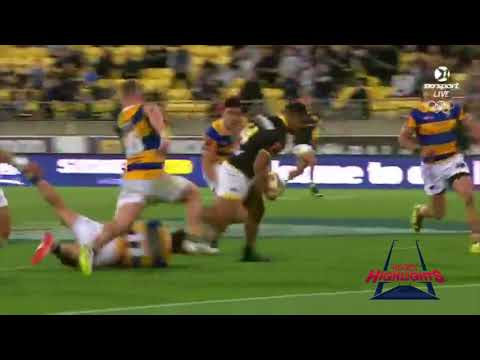 Julian Savea Rampaging Try vs Bay of Plenty