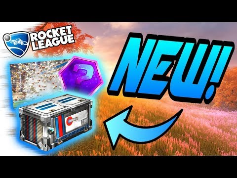 Rocket League AUTUMN Update:  NEW ACCELERATOR Crate, POPCORN Black Market, JAGER Import (Trailer)
