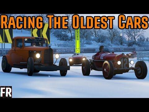 Forza Horizon 4 - Racing The Oldest Cars thumbnail