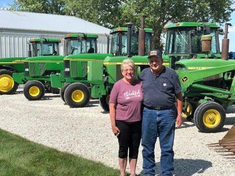 Kim & Dana Knoll Farm Retirement Auction Today In Hoopeston, IL