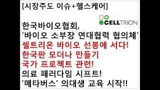 [시장주도 이슈+헬스케어]한국바이오협회,'바이오 소부장…