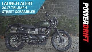 Triumph Street Scrambler : Launch Alert : PowerDrift
