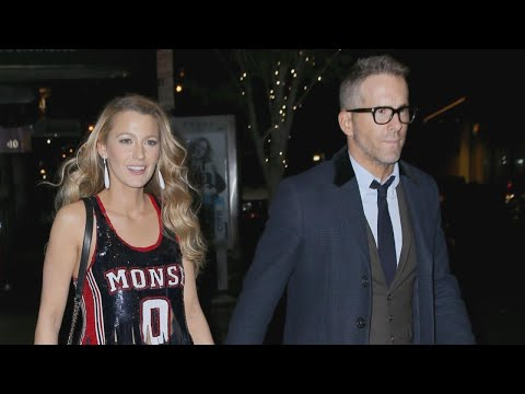 Blake Lively Flashes Her Midriff During PDA-Filled Date Night With Husband Ryan Reynolds