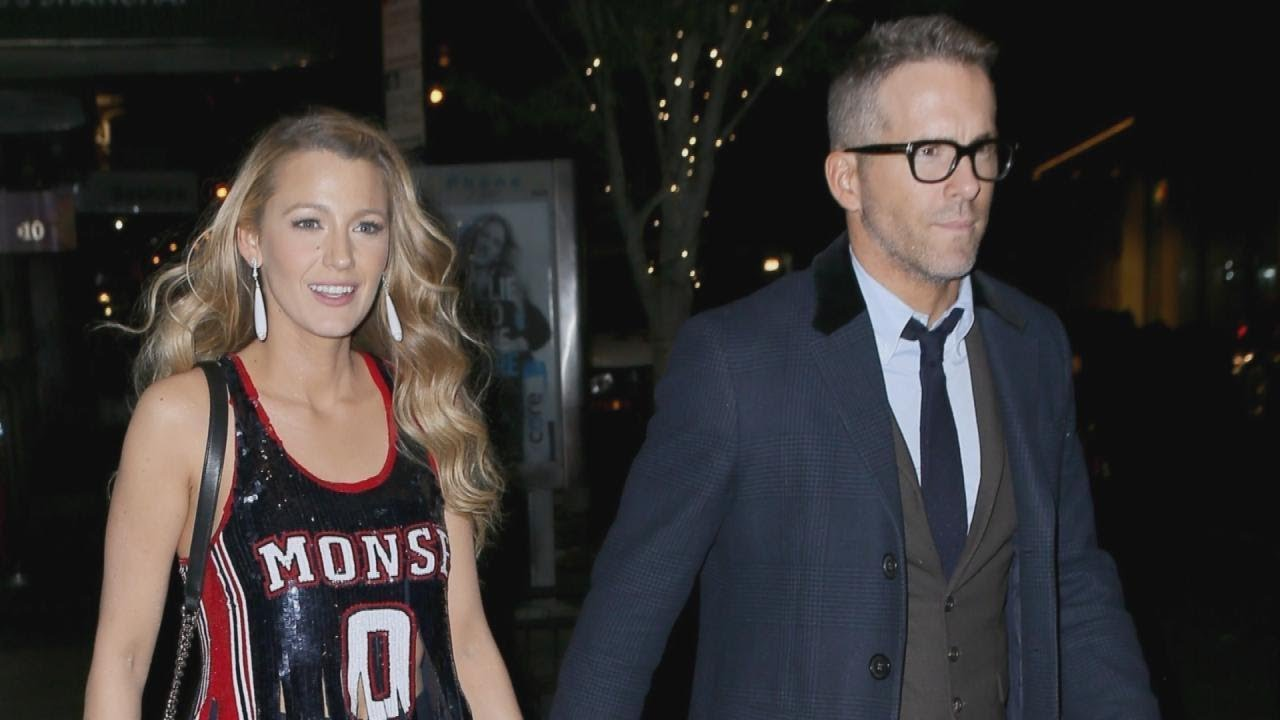 Blake Lively Flashes Her Midriff During PDA-Filled Date ...