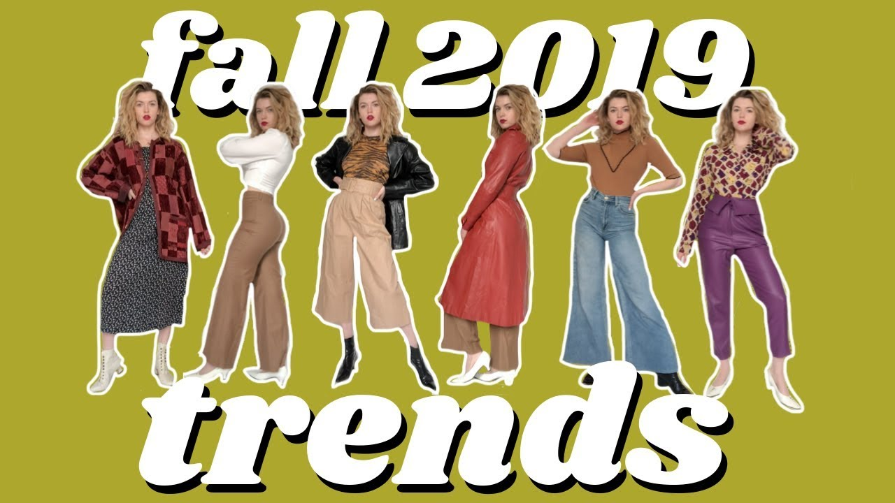 [VIDEO] - THRIFTING FALL TRENDS! fall 2019 trends thrift haul & outfit ideas 9