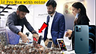 Buying iphone 12 PRO MAX With Pennies Prank @That Was Crazy​