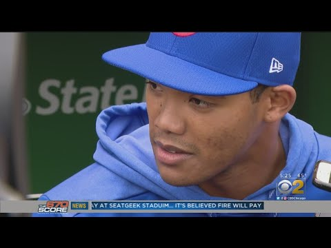 Chris Michaels - Addison Russell Returns To Cubs Since Being Suspended