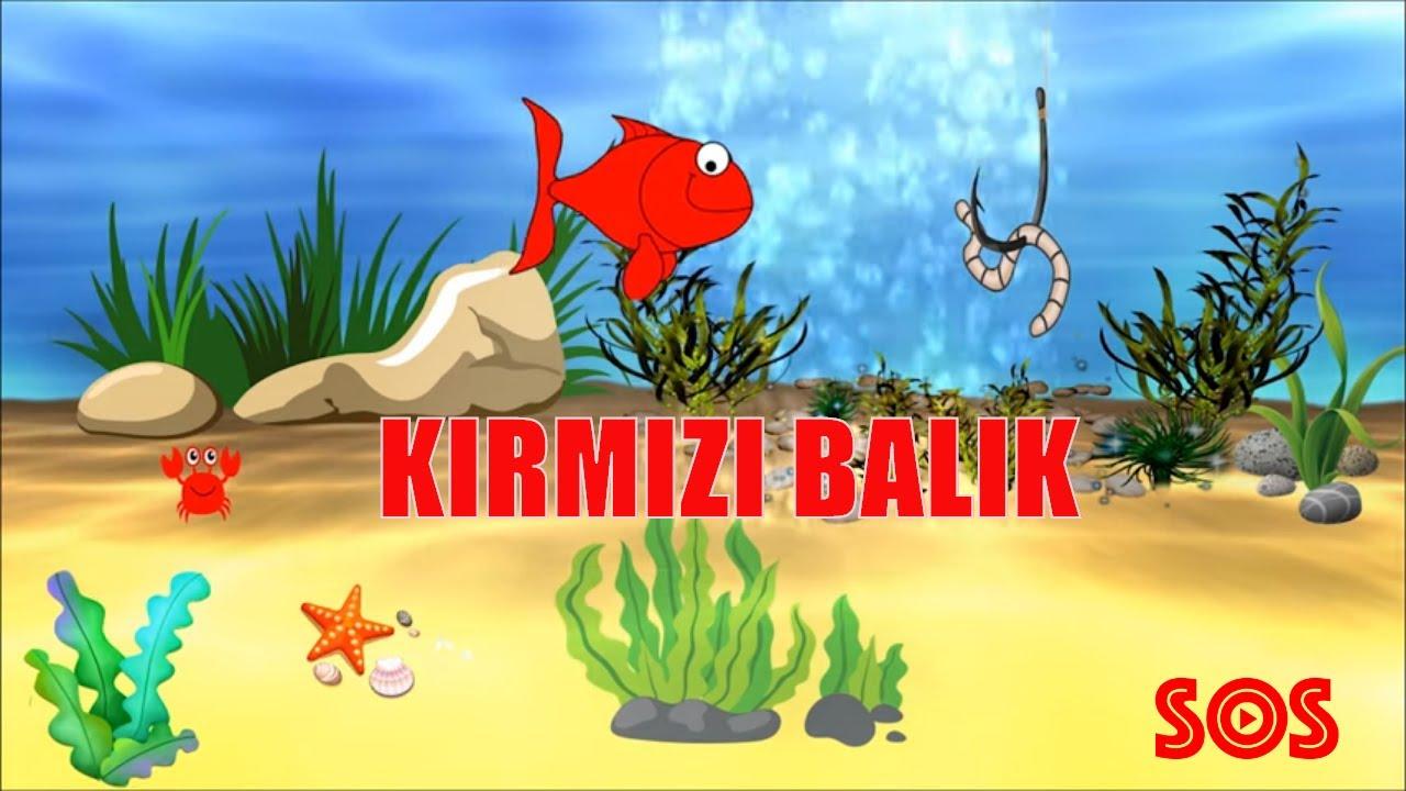 Kırmızı Balık (Official Video)  - Rüya Uluçınar  | SOS Yapım 2020 | Çocuk Şarkıları #evdekal