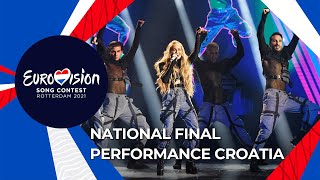 Albina - Tick-Tock - Croatia 🇭🇷 - National Final Performance - Eurovision 2021