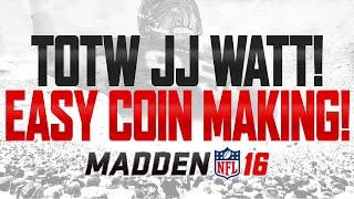 94 GENEL JJ WATT!   Kolay Yöntem MUT 16   Pazar Pazartesi Sikke Yapmak İçin!