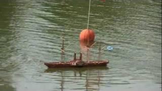 Колёсный пароход