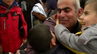 For Syrian refugee family, arrival in Sweden