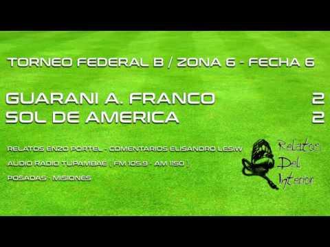 Guarani 2 - Sol de America 2 (Audio Radio Tupambaé)