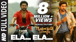 Ela Ela Video Song - Krishnarjuna Yuddham Video songs | Nani, Anupama, Rukshar | Hiphop Tamizha