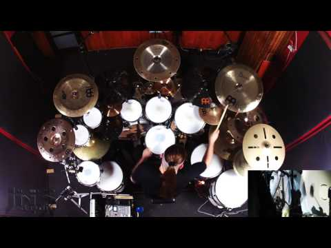 HATE - Into Burning Gehenna (Official Drum Playthrough) | Napalm Records