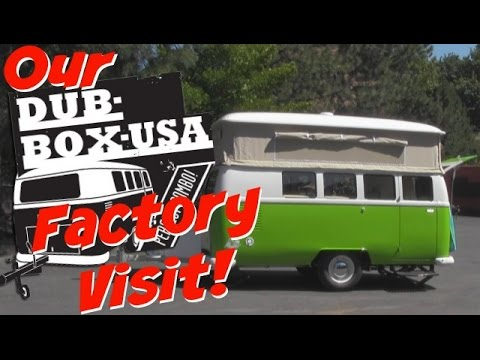 Awesome VW Style Camper Trailer - Dub Box USA