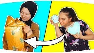 40 tl ile En Ucuza En Güzel Hediye 😜 | Zeynep ile Büşra kapışıyor!! Best Cheap Gift , Fenomen Tv
