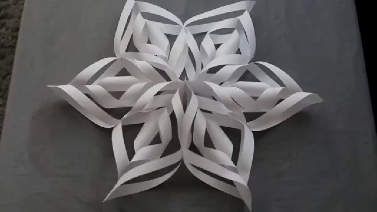How to Make a 3D Paper Snowflake: 12 Steps (with Pictures) | 720x1280