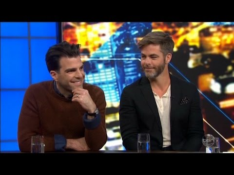 "Star Trek Beyond - Chris ""Pine Nuts"" Pine & Zachary Quinto Australian Tv Interview July 6 2016"