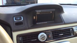 How to sync your iPhone to your 2013 Volvo XC70's Bluetooth
